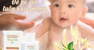 Nước tắm thảo dược cho bé loại nào tốt